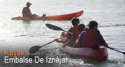 Kayak Embalse de Ianájar