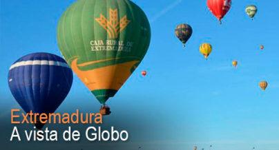 Extremadura a vista de globo