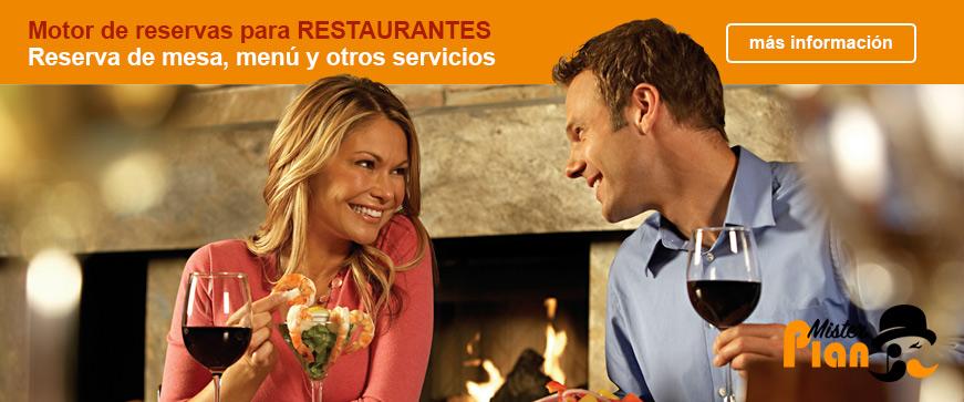 Motor de reservas para Restaurantes