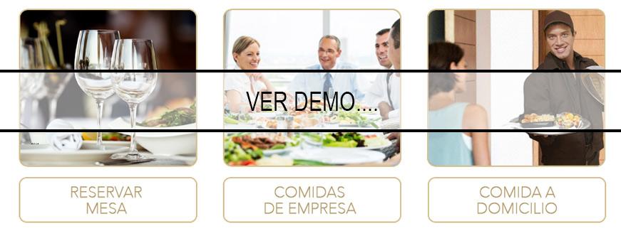 Demo motor reservas Restaurante