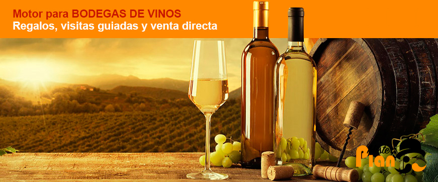 Motor de reservas para bodegas de vinos