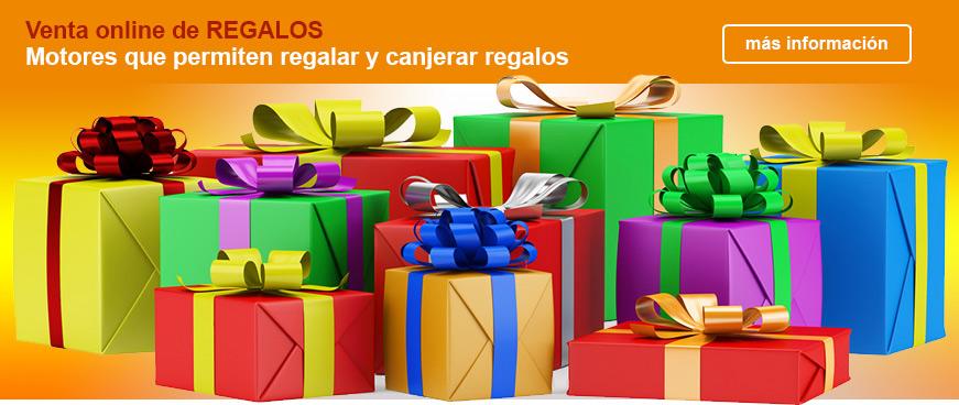 motor de reservas para regalos y canje de regalos
