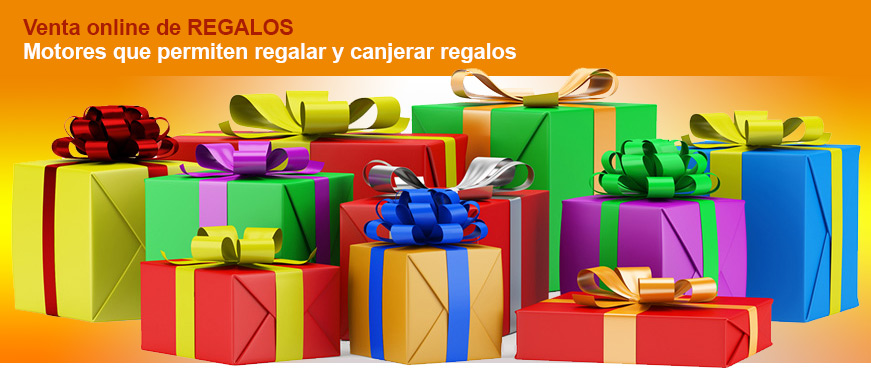 motor de reservas para regalar y canjear regalos
