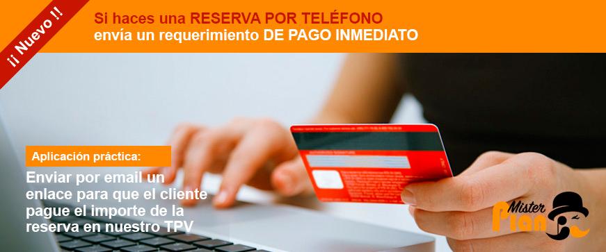 Mail de pago por TPV